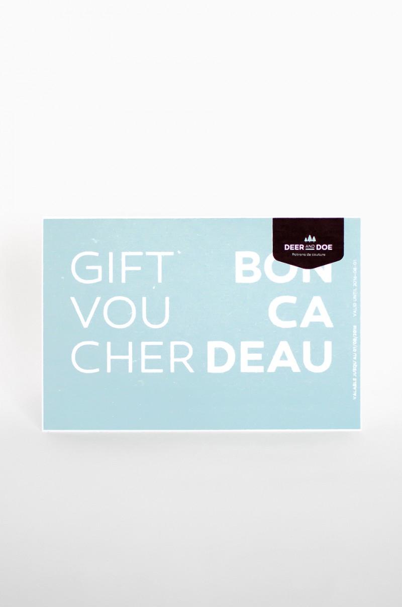 Assez Bon cadeau - Deer&Doe OQ13