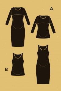 Robe/T-shirt de maternité Givre